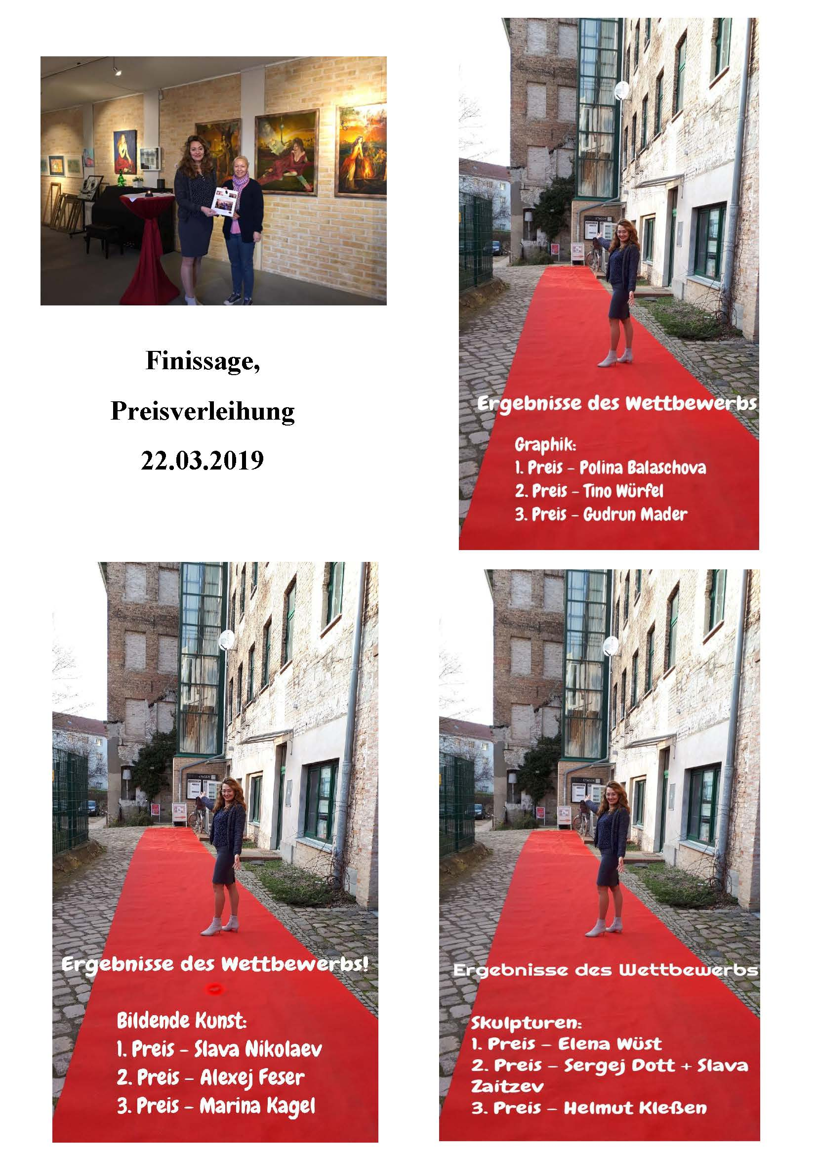 Finissage, Erotik, 2019